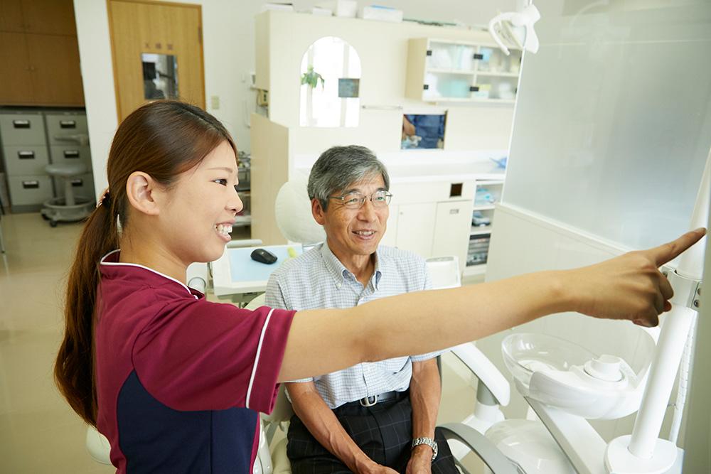 歯周病の早期発見・早期改善